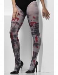 Pantys ensangrentados zombie adulto Halloween