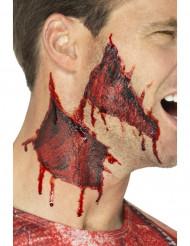 Tatuajes temporales piel desgarrada adulto Halloween