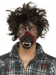 Prótesis gomaespuma látex boca hombre lobo adulto Halloween