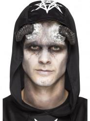 Prótesis látex cuernos demonio adulto Halloween