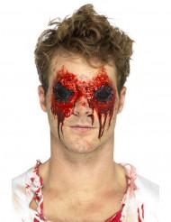 Prótesis látex ojos arrancados adulto Halloween