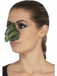 Prótesis gomaespuma látex nariz de bruja adulto Halloween