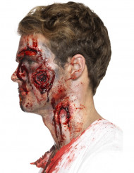 Prótesis látex heridas ensangrentadas adulto Halloween