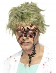 Costra de sangre zombie mujer Halloween