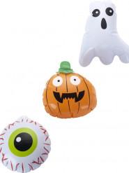 3 Globos 15 cm Halloween