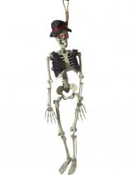 Decoración para colgar novio esqueleto 90 cm Halloween