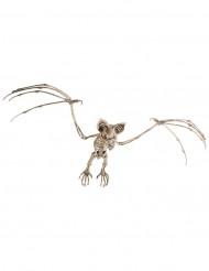 Decoración para colgar esqueleto murciélago 72 cm Halloween