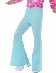 Pantalón disco turquesa hombre