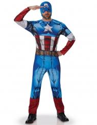 Disfraz de Capitán América Los Vengadores™ adulto