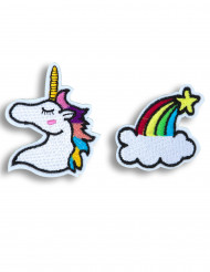 2 Horquillas unicornio
