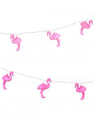 Guirnalda luminosa flamencos rosas 2 m 10