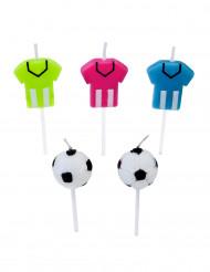 5 Velas fútbol