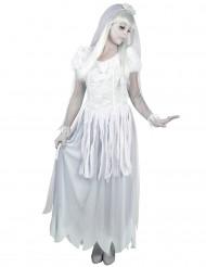 Disfraz de novia fantasma mujer
