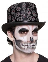 Sombrero calavera adulto Día de los muertos
