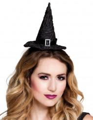 Mini sombrero bruja mujer Halloween