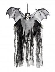 Decoración para colgar segadora murciélago 60 cm Halloween
