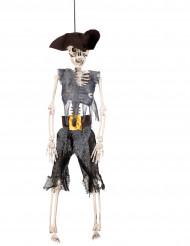 Decoración para colgar bucanero pirata 40 cm