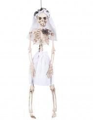 Decoración para colgar novia esqueleto 40 cm Halloween