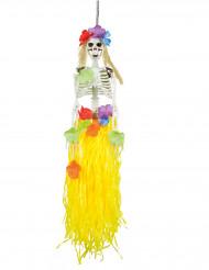 Decoración para colgar esqueleto hawaiano