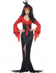 Disfraz reina del terror murciélagos mujer Halloween