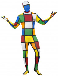 Disfraz segunda piel Cubo de Rubik™ hombre
