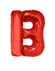 Globo aluminio gigante letra B rojo 102