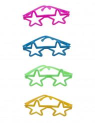 4 Mini gafas de colores