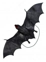Decoración murciélago negro 32 x 12 x 2 cm