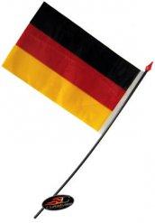 Bandera alemana 14x9cm