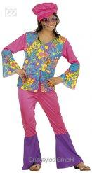 Disfraz hippie años 70 niña