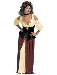 Disfraz de sirvienta medieval