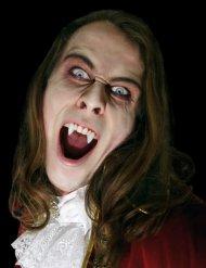 Dientes de vampiro blancos adulto