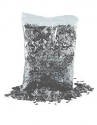 Bolsa de confetis gris oscuro 200g