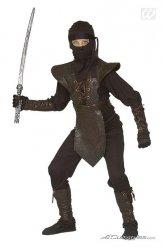 Disfraz guerrero Ninja para niño marrón