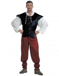 Disfraz tabernero Edad Media hombre