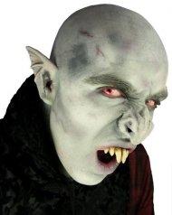 Nariz de vampiro gris látex adulto