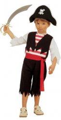 Disfraz de corsario pirata niño