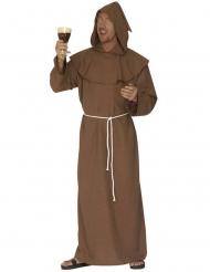 Disfraz monja marrón mujer
