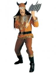 Disfraz vikingo leopardo hombre
