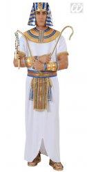 Disfraz de faraón egipcio hombre blanco