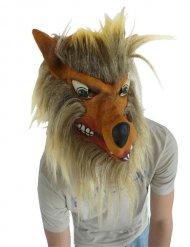 Máscara de lobo para adulto