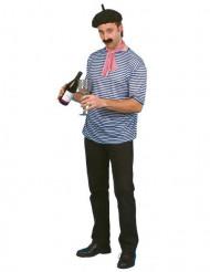 Kit disfraz de francés adulto