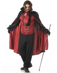Disfraz de principe de las tinieblas vampiro hombre