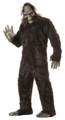 Disfraz de yeti marrón