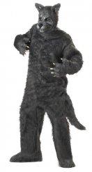 Disfraz gran lobo feroz adulto
