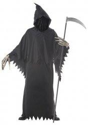 Disfraz de segador negro hombre Halloween