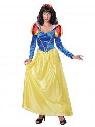 Disfraz de princesa de los cuentos mujer