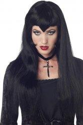Peluca vampiro gótica para mujer