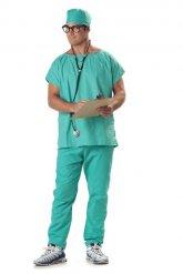 Disfraz de cirujano doctor