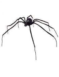 Araña negra 110 cm Halloween